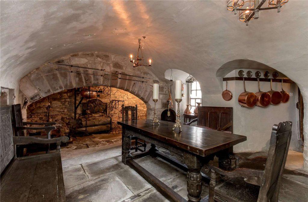 Old 15th century kitchen